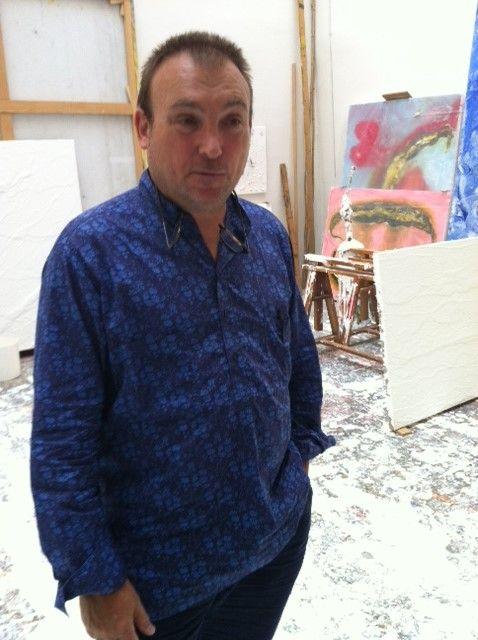 Miquel Barceló dans son atelier