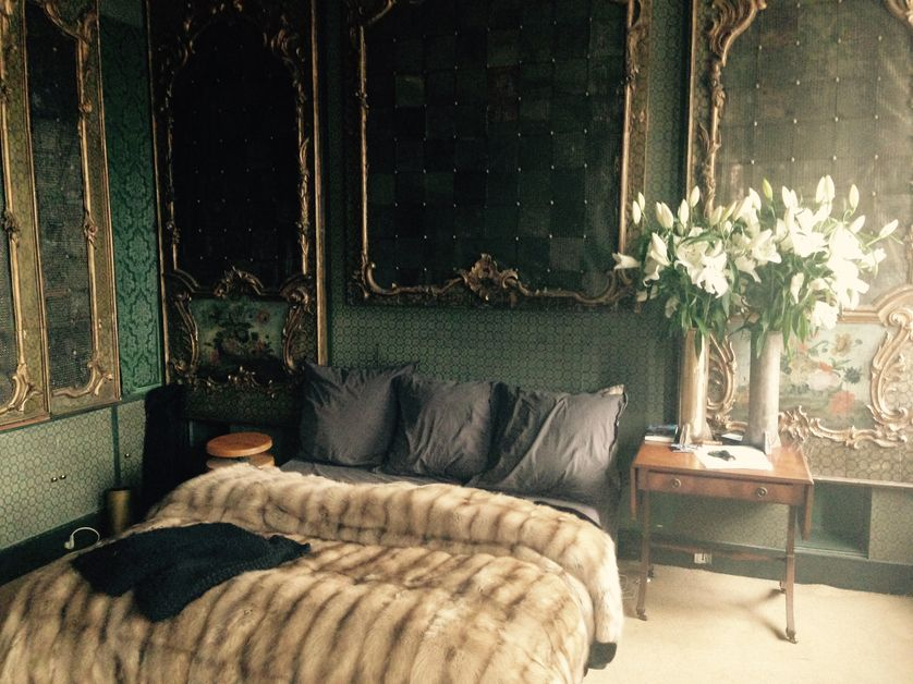 La chambre de Michèle Lamy
