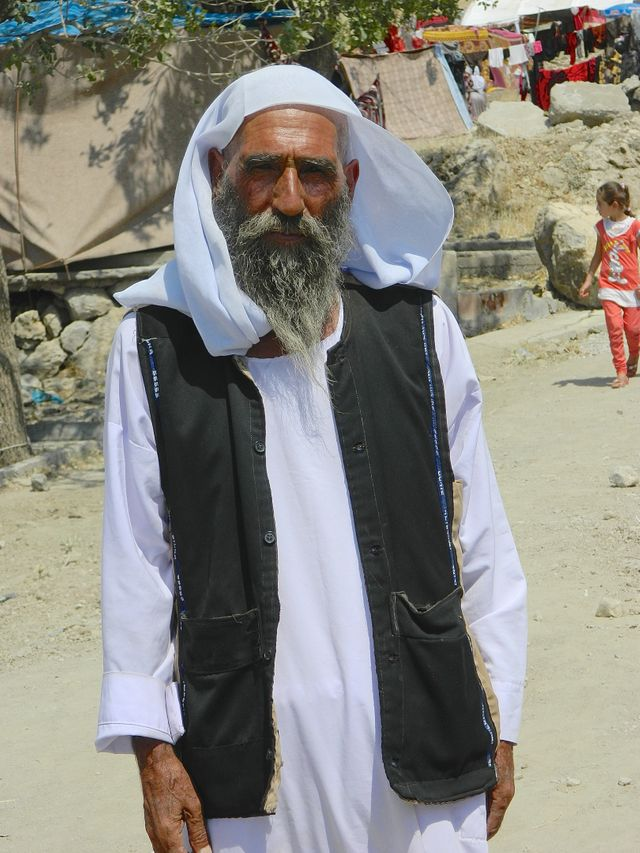 Barakat, kurde yézidi réfugié en Turquie