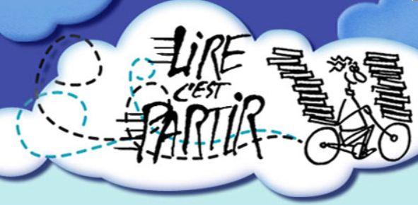 Logo Vincent Safrat « Lire c'est partir »