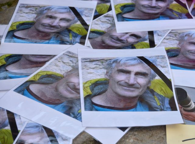 L'hommage à Hervé Gourdel à Saint-Martin-Vesubie