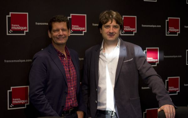 Vincent Josse et Bruno Mantovani (©Radio France / Guillaume Decalf)
