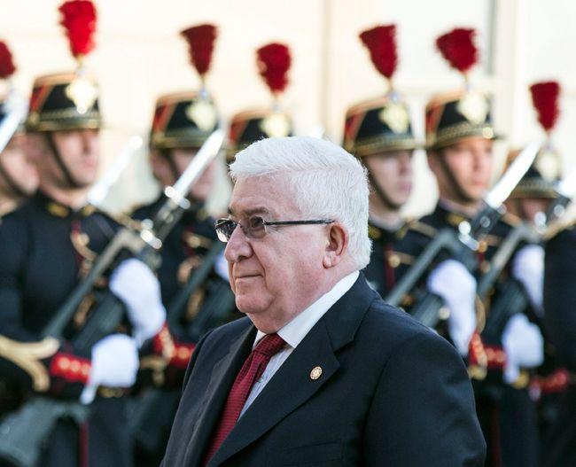 Fouad Massoum, président de l'Irak