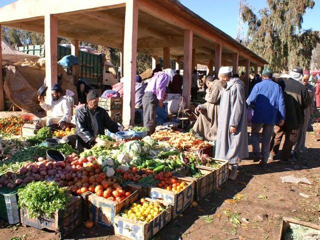 Fruits et légumes au Maroc