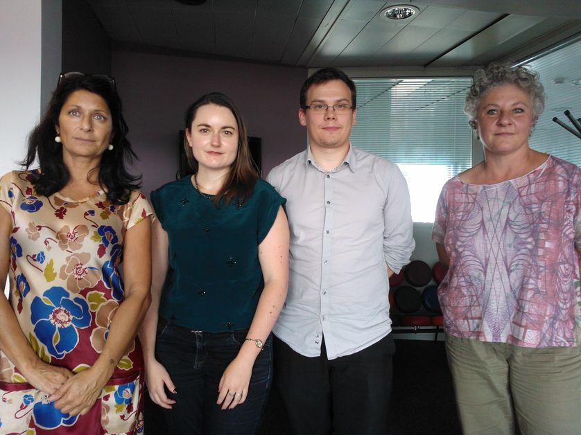 Libie Cousteau, Juliette Guérin, Olivier Monod et Sophie Duchesne
