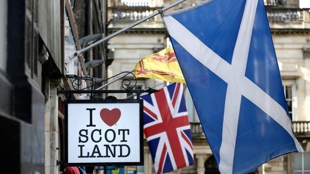 L'Union Jack, drapeau anglais, gardera les couleurs de l'Ecosse