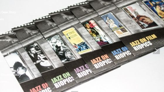Photo - coffret Jazz on Film - Biopics