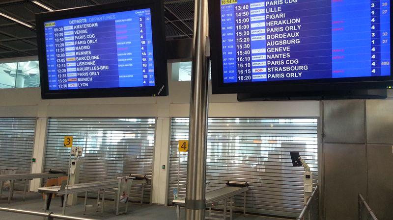 Vols annulés à Marseille Provence ce 15 septembre 2014