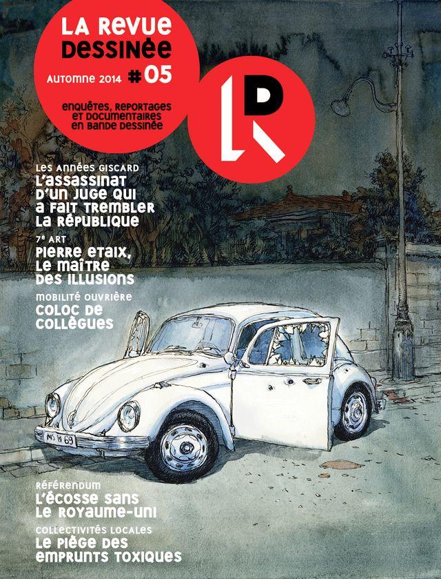 Couverture La revue dessinée #5