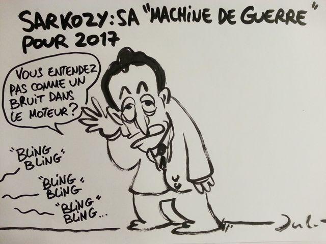 Jul Sarkozy bling bling