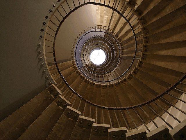 Escalier d'une tour de Jussieu
