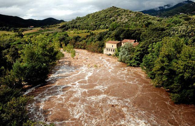 Violents orages dans l'Hérault et le Gard
