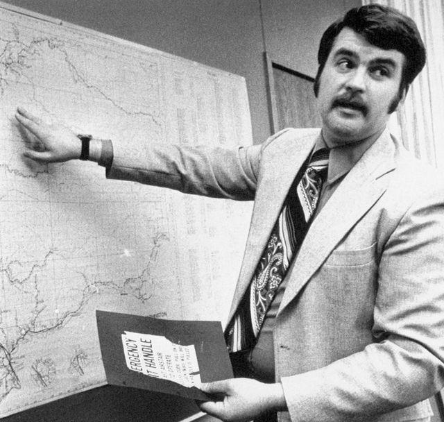 Bob Nix, le shérif adjoint chargé de l'enquête dans l'affaire Dan Cooper, 18 janvier 1979