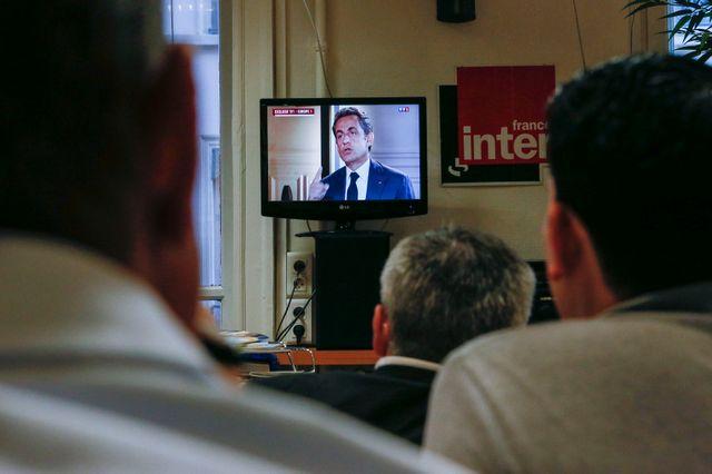 Nicolas Sarkozy interviendra sur France 2 à 20h
