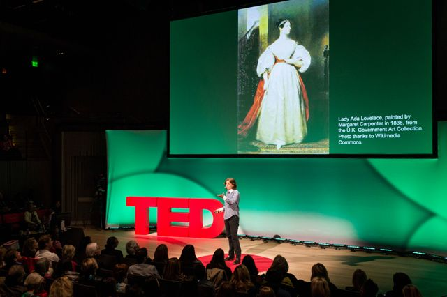 Megan Smith à une conférence TED
