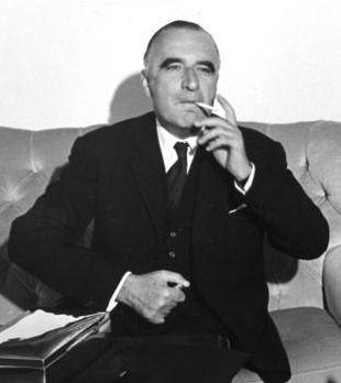 Georges Pompidou à Bonn en 1965