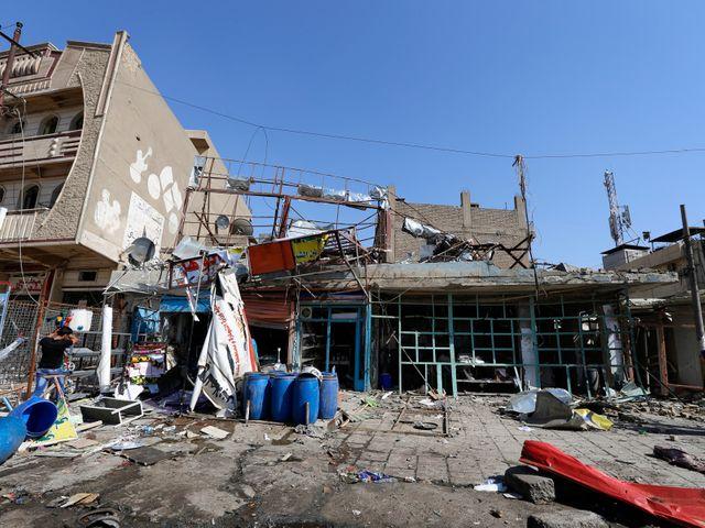 La ville de Bagdad est souvent l'objet d'attaques de la part des Islamistes