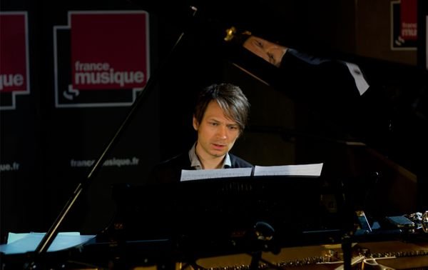 Le pianiste Guillaume Coppola (©Guillaume Decalf / France Musique)