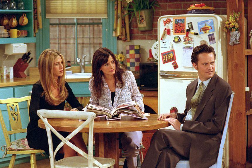 Dans la cuisine de Rachel et Monica