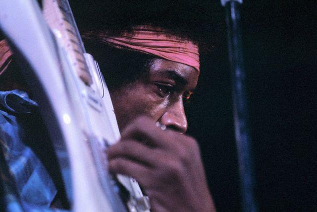Concert de Jimi Hendrix, à Harlem, le 9 août 1969