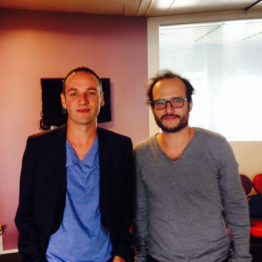Thomas Lilti et François Begaudeau