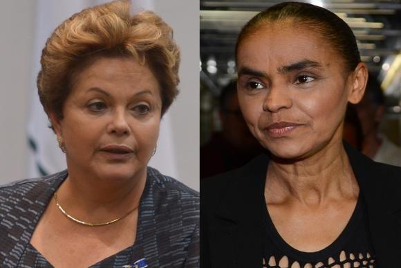 Dilma Roussef & Marina Silva