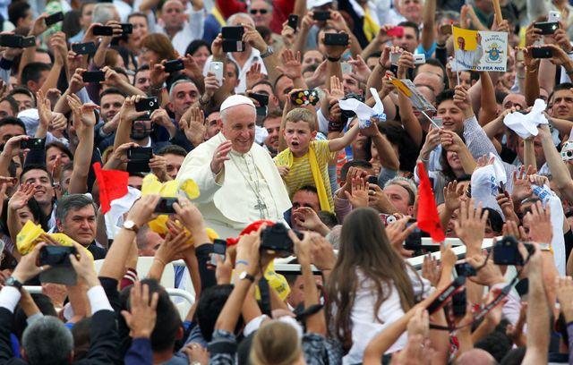 Le pape a symboliquement réservé sa première visite européenne à l'Albanie
