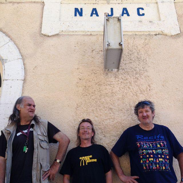 A la gare de Najac