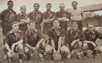 L'équipe du RC Lens lors de la saison 1937-1938
