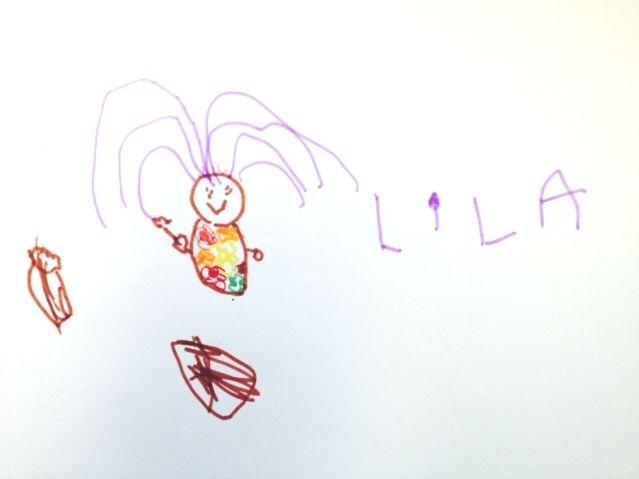 Portrait de Lila par sa soeur Emma