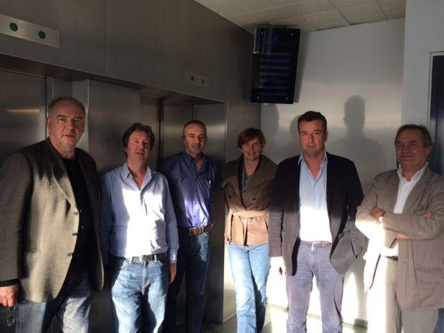 Jean-Pierre Perrin, Christian Chesnot, Frédéric Barreyre, Michèle Léridon, Régis Le Sommier, Jean-Marie Charon
