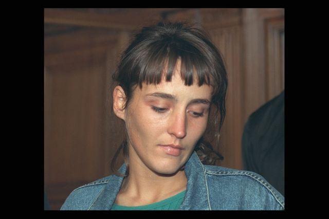 Florence Rey pendant son procès le 17 septembre 1998