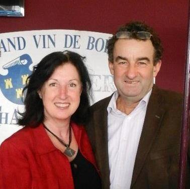 Sylvie et François Barron de Château Méric @DR