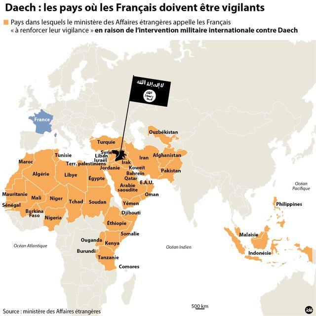Les pays à risques