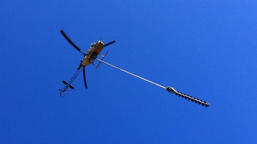 élagage par hélicoptère en Dordogne