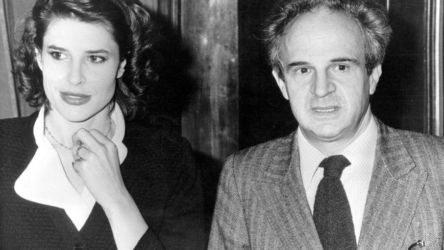 François Truffaut accompagné de Fanny Ardant, le dernier amour de ce séducteur compulsif