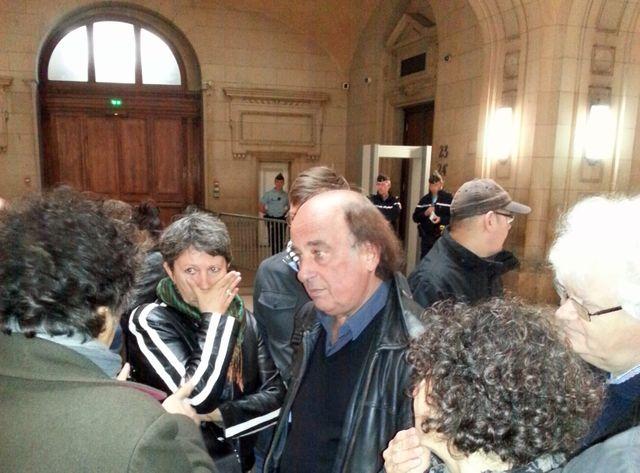 Alain Pojolat, militant du NPA, comparaît devant le tribunal correctionnel de Paris pour avoir appelé à des manife interdites
