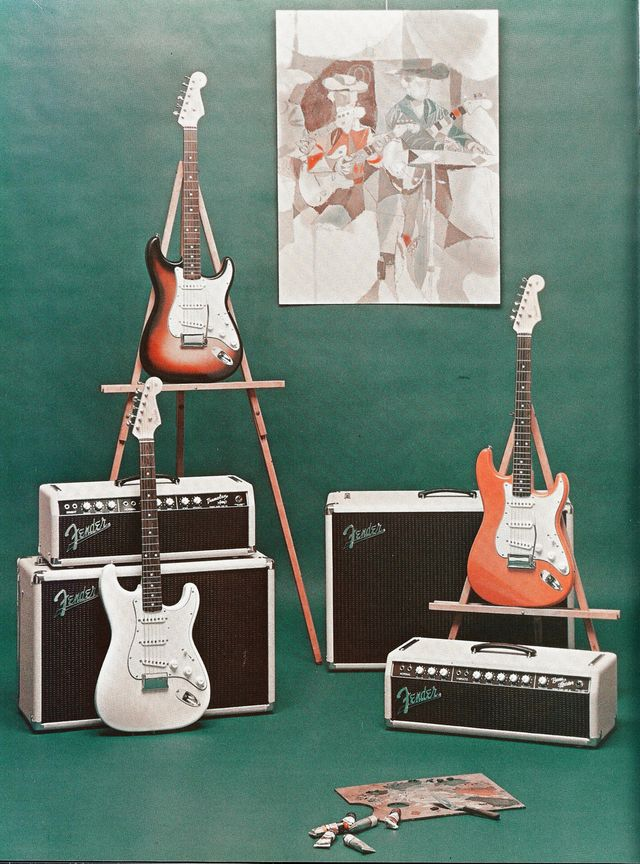 Extrait du catalogue Fender 1961
