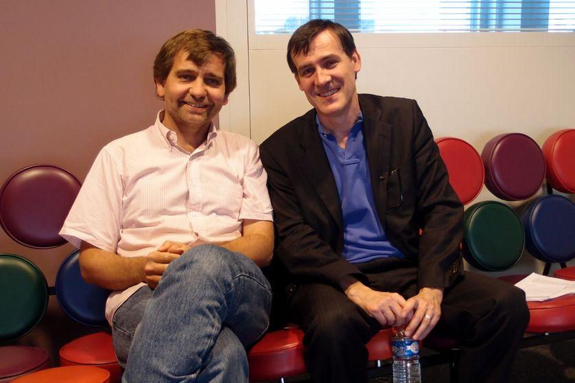 Sébastien Velut et Stéphane Monclaire