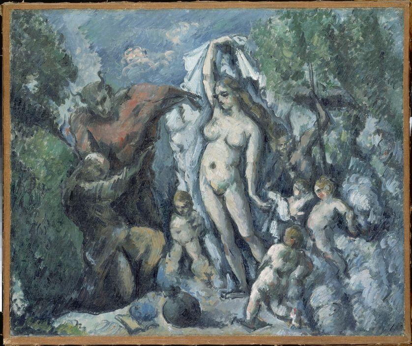 """""""La tentation de saint Antoine"""" de Cézanne"""