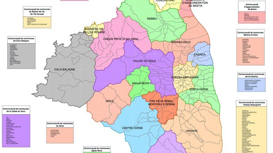 Carte Haute Corse Communes.Intercommunalite Marana Golo La Balle Est Dans Le Camp Du