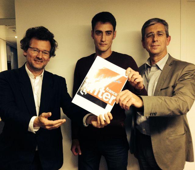Laurent Bécue-Renard, Sylvain Loreau et Humbert Boisseaux