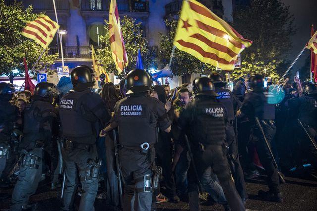 Manifestation à Barcelone en septembre dernier pour l'indépendance de la région