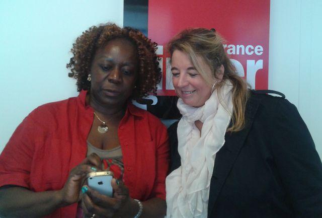 Aurélie Monkam Noubissi et Marie-Pierre Planchon