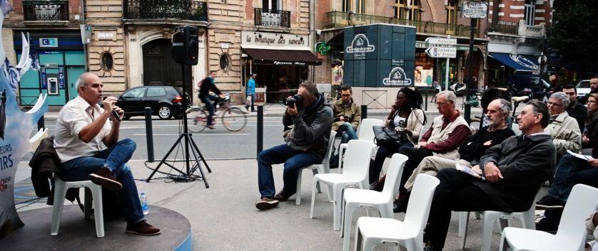 Colporteur de savoirs à la Novela de Toulouse en 2013