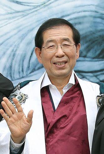 Park Won-soon, maire de Séoul