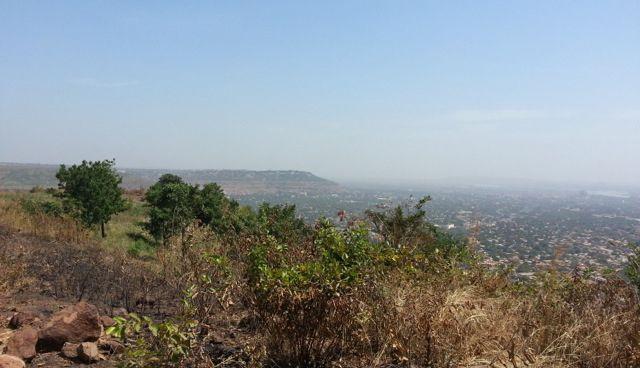 Vue sur Bamako, depuis la Colline de Lassa