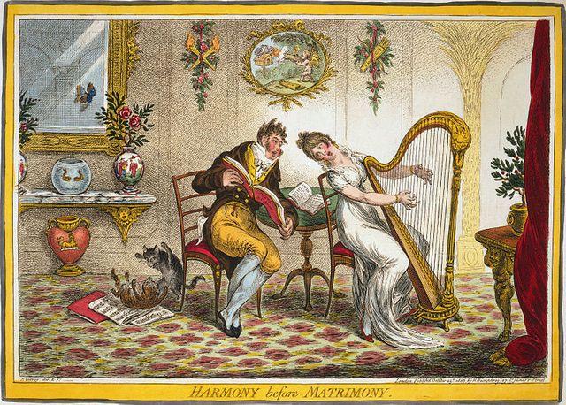 L'harmonie avant le mariage