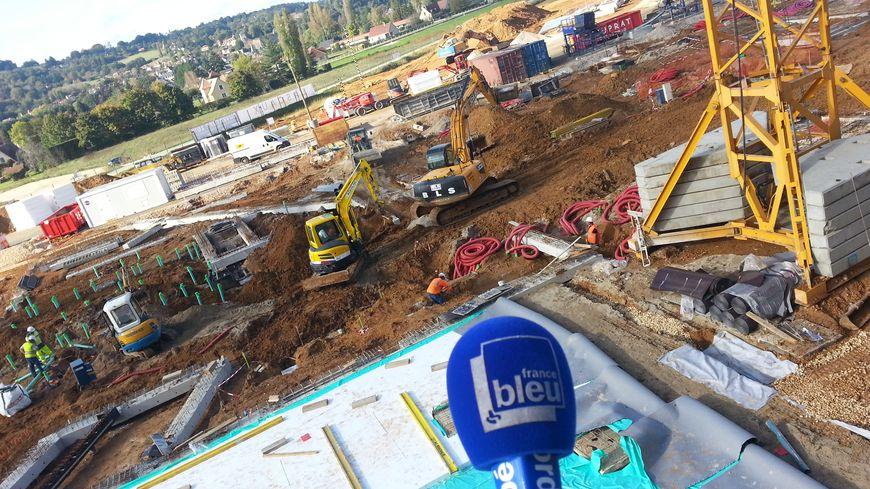 L'état du chantier de Lascaux 4 en octobre 2014