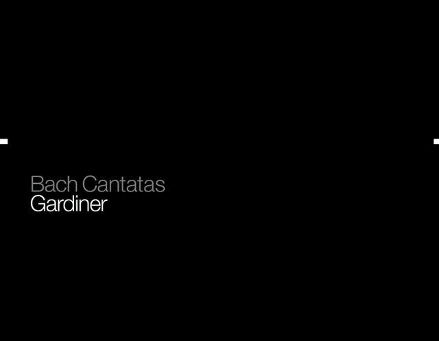 Sir John Eliot Gardiner - intégrale Cantates Bach